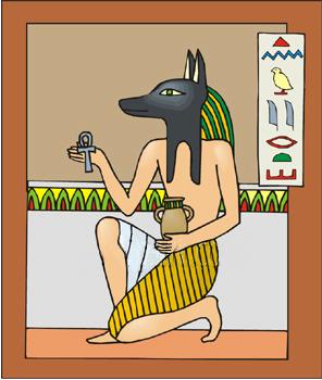 Anpu (Anubis) Egyptian God